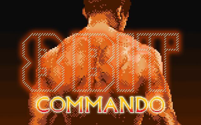 8-Bit Commando, run-n-gun platformer